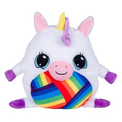 """MushaBelly White Unicorn Medium 12"""""""