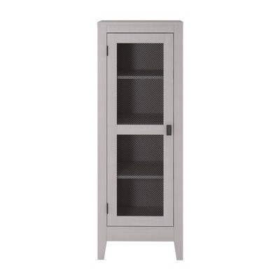 Coulwood Storage Cabinet With Mesh Door - Room & Joy