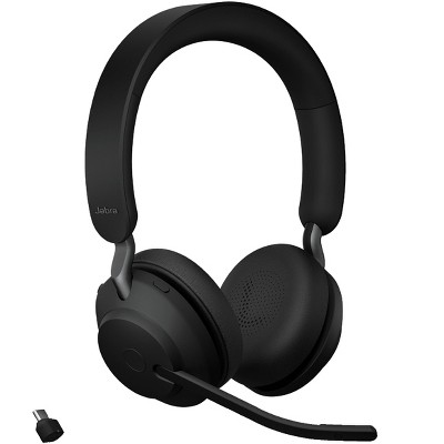 Jabra Evolve2 65 USB-C MS Stereo - Black Wireless Headset / Music Headphones