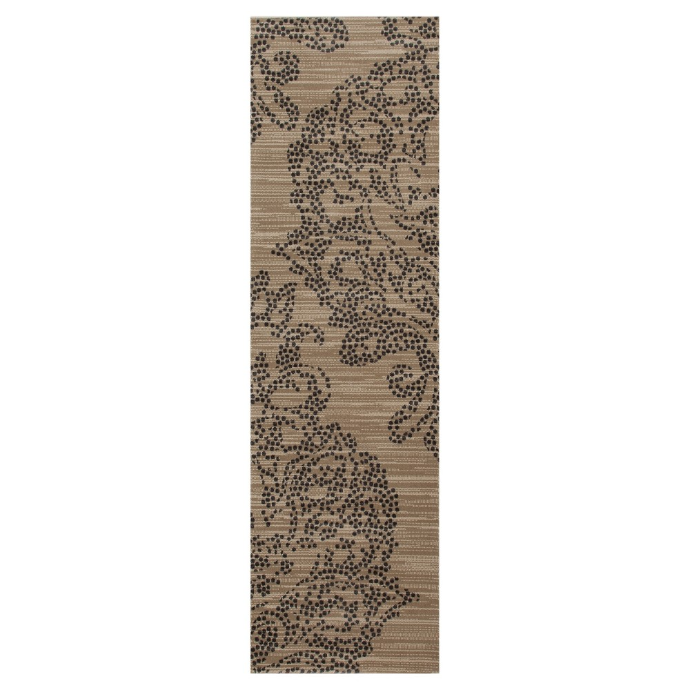 Image of Buff Beige Classic Woven Runner - (2'X8') - Art Carpet