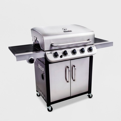 Char Broil Performance 45 000 Btu Gas Grill With Side Burner 463373019 Silver Target