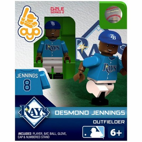 Tampa Bay Rays MLB Generation 2 Series 2 Desmond Jennings Minifigure - image 1 of 2