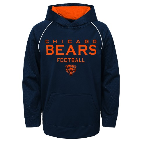 fe0daefd Chicago Bears Boys' In the Game Poly Embossed Hoodie L