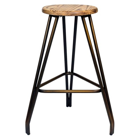 Harvery Counter Stool - Antique Copper (Set Of 2) - Aeon - image 1 of 1