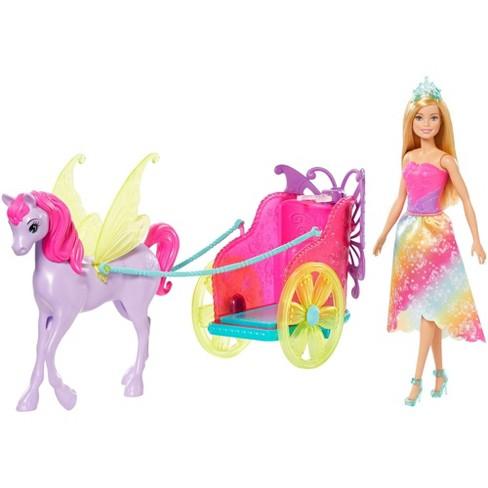 Barbie Dreamtopia Princess Doll, Pegasus & Chariot Giftset - image 1 of 4