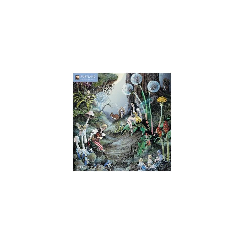 Fairyland 2019 Calendar - (Paperback)