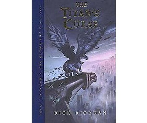The Titan's Curse (Hardcover) by Rick Riordan - image 1 of 1