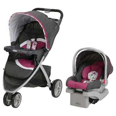 Graco® Pace Click Connect Travel System - Pippa