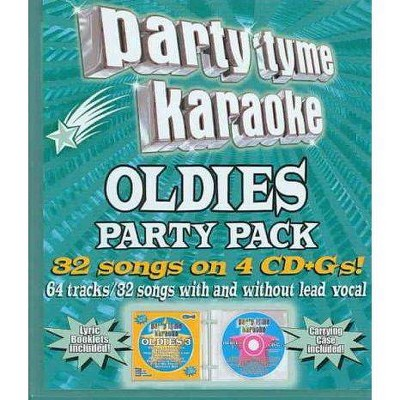Party Tyme Karaoke - Party Tyme Karaoke - Oldies Party Pack (32+32-song Party Pack) (4 CD)