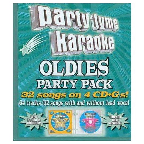 SybersoundSybersound - Party Tyme Karaoke: Oldies Party Pack (2006)party Tyme Karaoke- Oldies Party Pack - image 1 of 1