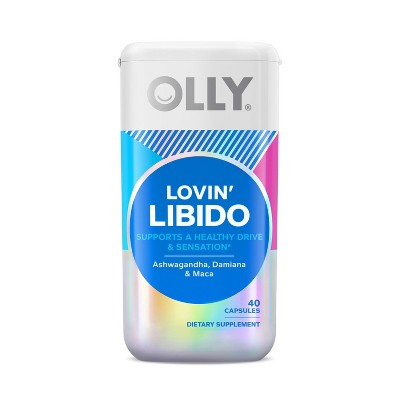 OLLY Lovin' Libido Capsule Supplement - 40ct