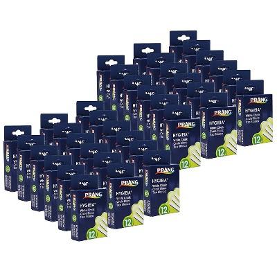 Prang Dustless Board Chalk White 12 Sticks/Pack 36 Packs DIX31144-36