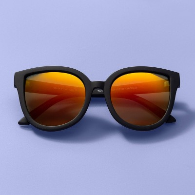 Kids' Cat Lens Sunglasses- More Than Magic™ Black