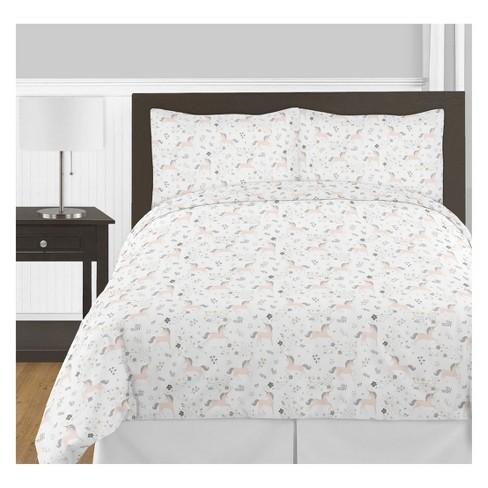 Full/Queen 3pc Unicorn Comforter Set - Sweet Jojo Designs - image 1 of 2