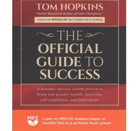 Official Guide to Success -  by Tom Hopkins (MP3-CD) - image 1 of 1
