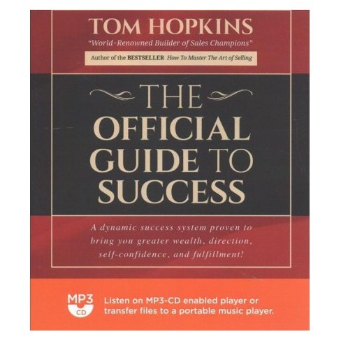 Official Guide to Success - MP3 UNA by Tom Hopkins (MP3-CD)