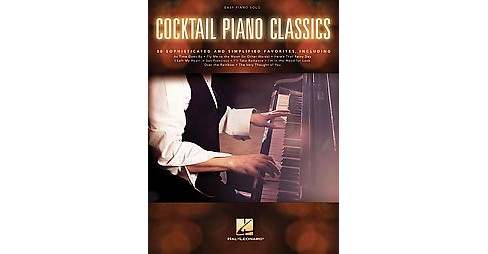 Cocktail Piano Classics : Easy Piano Solo (Paperback) - image 1 of 1