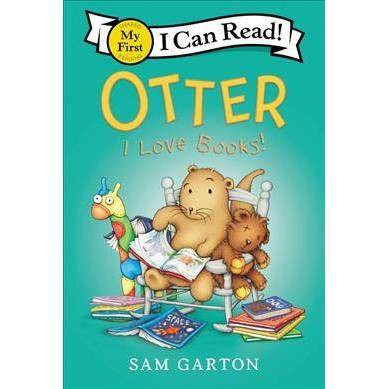 Otter: I Love Books! - (My First I Can Read) by  Sam Garton (Paperback)