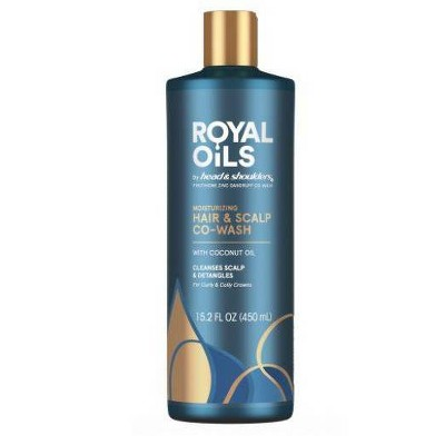 Head and Shoulders Royal Oils Moisturizing Co-Wash with Coconut Oil - 15.2 fl oz