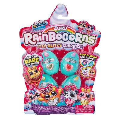 Rainbocorns Itzy Glitzy 4 pack