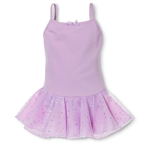 Danz N Motion&#174 by Danshuz&#174 Girls' Activewear Dress -  Lavender 4-6 - image 1 of 1