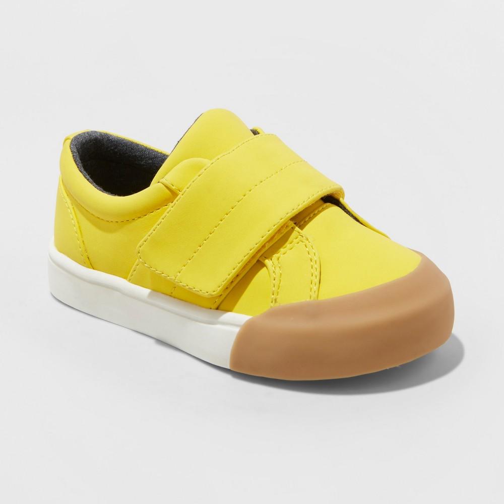 Toddler Boys' Lorenzo Sneakers - Cat & Jack Yellow 11