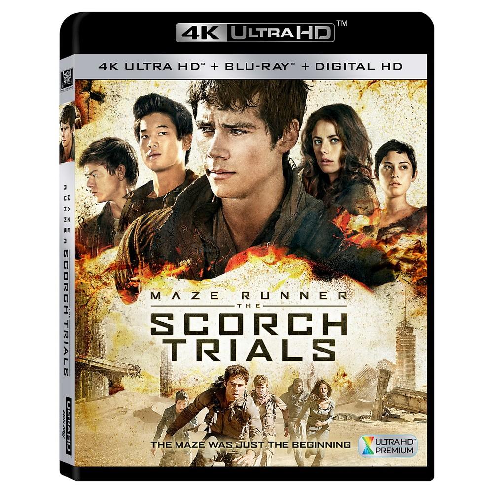 Scorch Trials: Maze Runner [Includes 4K Ultra HD] (Blu-ray] [Digital HD Copy]