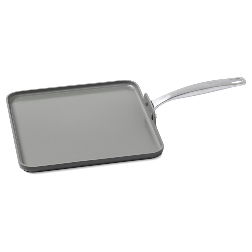 Image of Green Pan Chatham 11 Non-Stick Square Griddle Gray