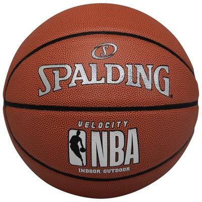 "Spalding 29.5"" Velocity Basketball - Brown"
