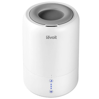 Levoit Evaport Ultrasonic Top-Fill Cool Mist 2-in-1 Humidifier & Diffuser Gray