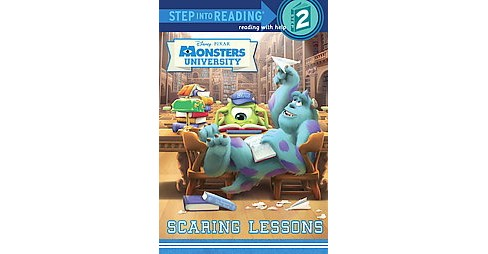 Scaring Lessons ( Step Into Reading, Step 2: Monsters University) (Paperback) by Susan Amerikaner - image 1 of 1