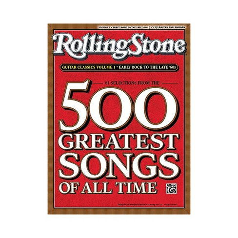 Alfred Rolling Stone 500 Greatest Songs Of All Time Guitar Classics Volume 1 - image 1 of 1
