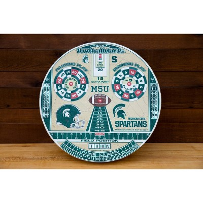 NCAA Michigan State Spartans Official Football Dartboard