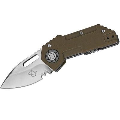 Mantis Wile E Folder 2.375 in Blade Coyote Tan G10 Handle