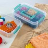 Sterilite Stack & Carry 2 Tray Handle Box Organizer - image 2 of 4