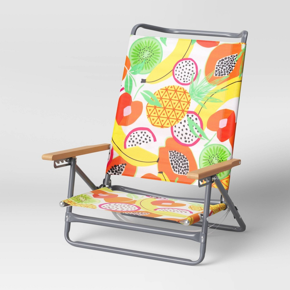 Discounts 5-Position Beach Sand Chair - Fruit - Sun Squad™