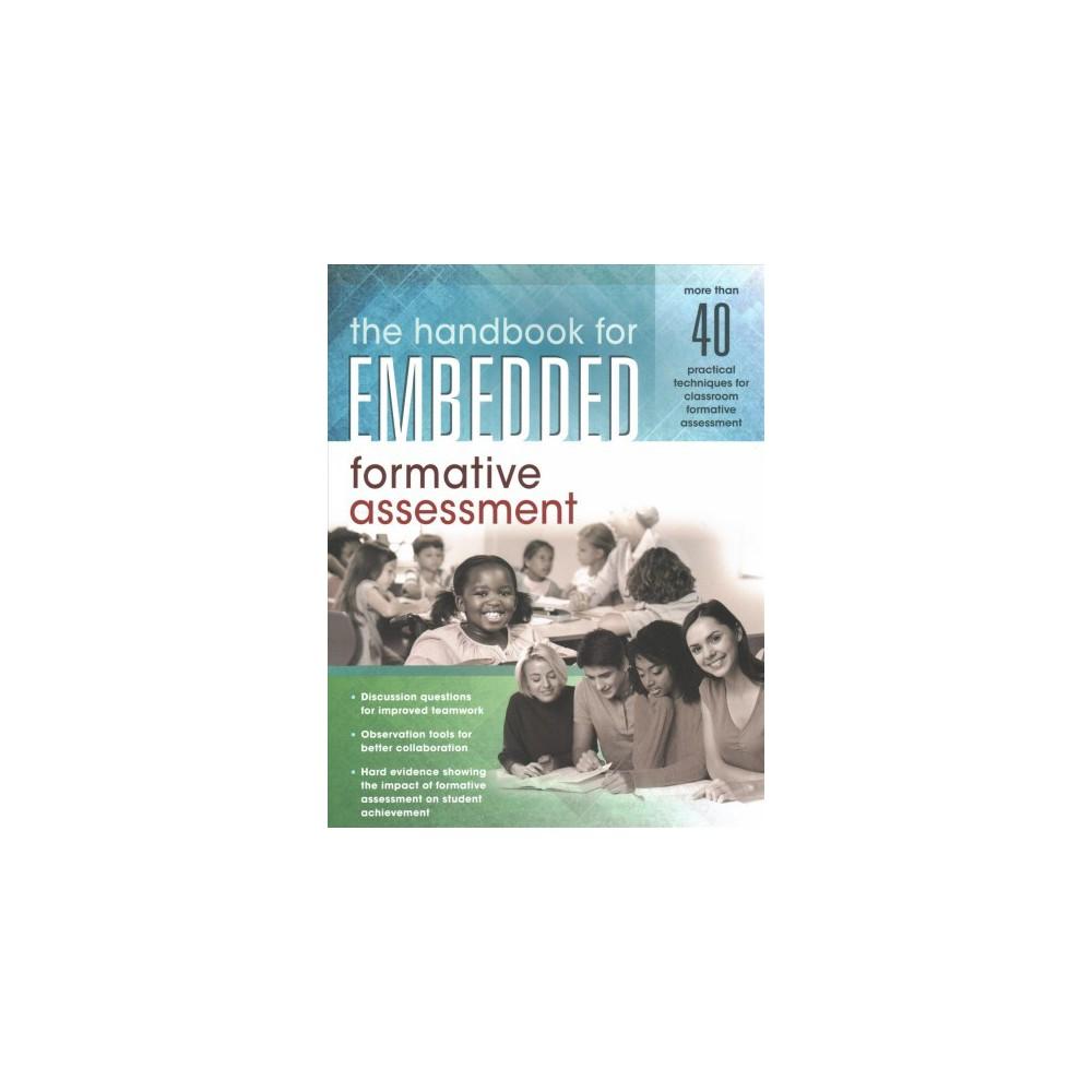 Handbook for Embedded Formative Assessment - (Paperback)