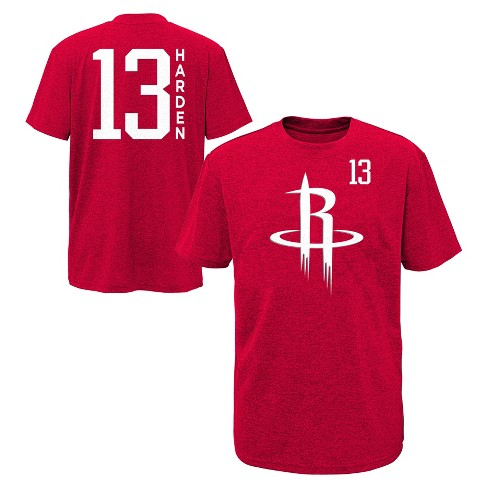 NBA Houston Rockets Boys' Performance Player T-Shirt - image 1 of 3