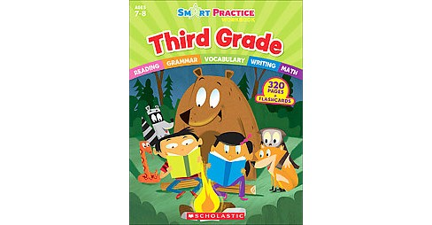Smart Practice Grade 3 (Workbook) (Paperback) - image 1 of 1