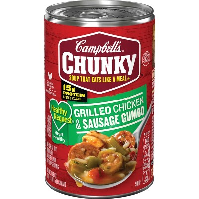 Soup: Campbell's Chunky Healthy Request