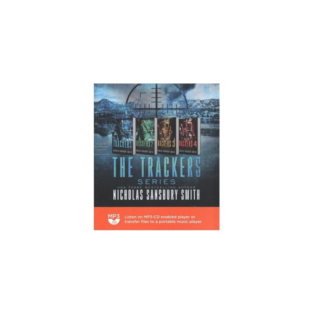 Trackers Series - MP3 Una (Trackers) by Nicholas Sansbury Smith (MP3-CD)