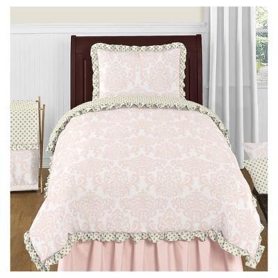 Pink & Gold Amelia Comforter Set (Twin) - Sweet Jojo Designs