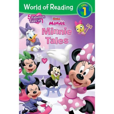 World of Reading: Minnie Tales - by Disney (Paperback)
