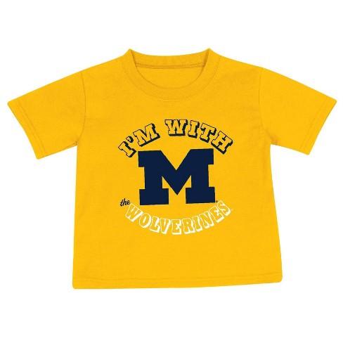 NCAA Michigan Wolverines Toddler Boys' 2pk Short Sleeve T-Shirt - image 1 of 2