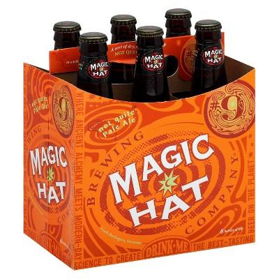 Magic Hat Pale Ale Beer - 6pk/12 fl oz Bottles