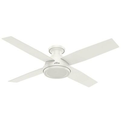 """52"""" Dempsey Low Profile Ceiling Fan - Hunter Fan"""