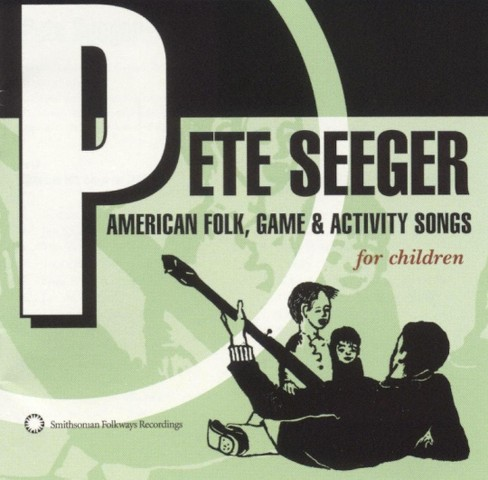 Pete seeger - American folk game & activity songs (CD) - image 1 of 5