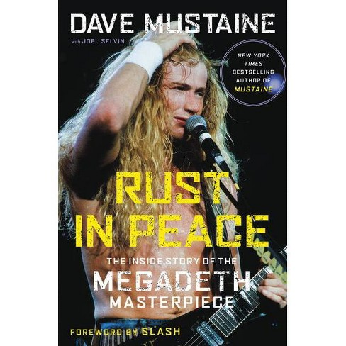 Rust in Peace - by  Dave Mustaine (Hardcover) - image 1 of 1