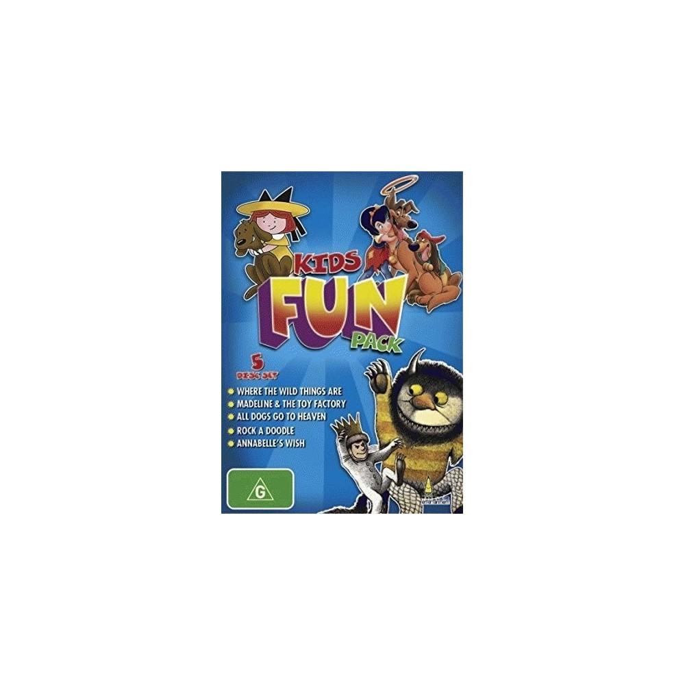 Kids Fun Pack (Dvd), Movies
