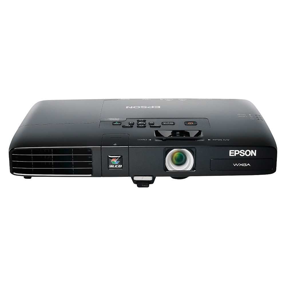Epson PowerLite 1761W Wxga 3LCD Wireless Ultra Portable Projector, Black The Epson PowerLite 1761W Wxga 3LCD Wireless Ultra Portable Projector lets you take your work anywhere you need. This Epson multimedia projector gives you a professional presentation. Color: Black.